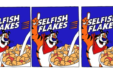 flake on me once