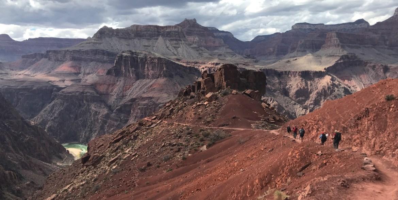 south kaibab trail grand canyon semi-rad