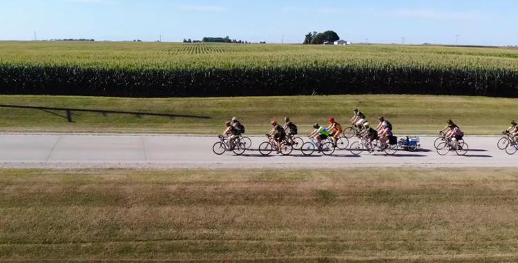 screen capture from RAGBRAI-Bike Party Across Iowa