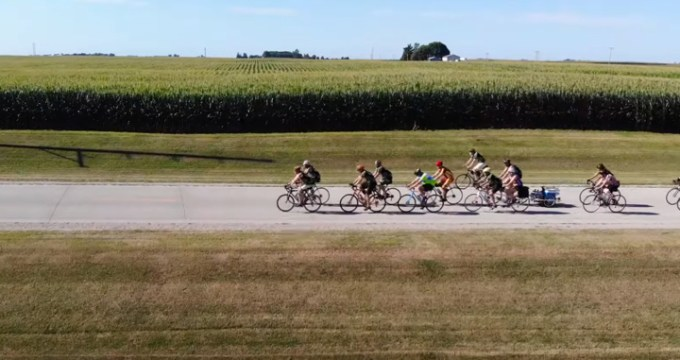 screen capture from RAGBRAI-Bike Party Across Iowa