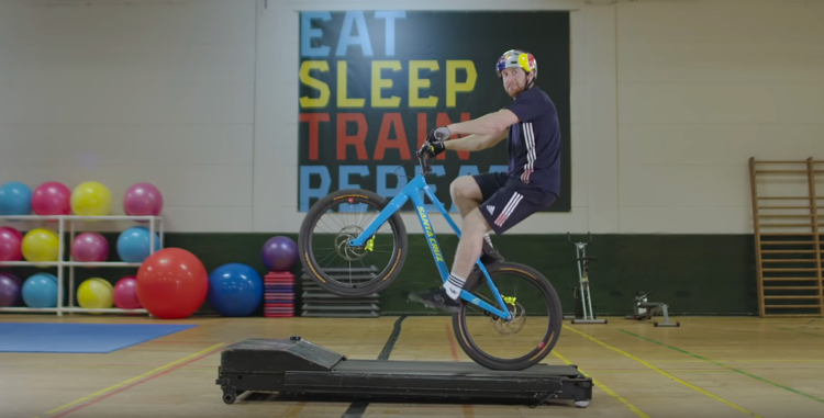 screen capture from Danny MacAskill's Gymnasium