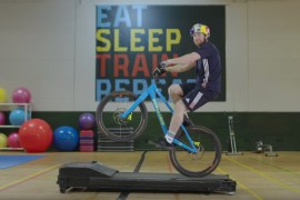 screen capture from Danny MacAskill's Gymnasium