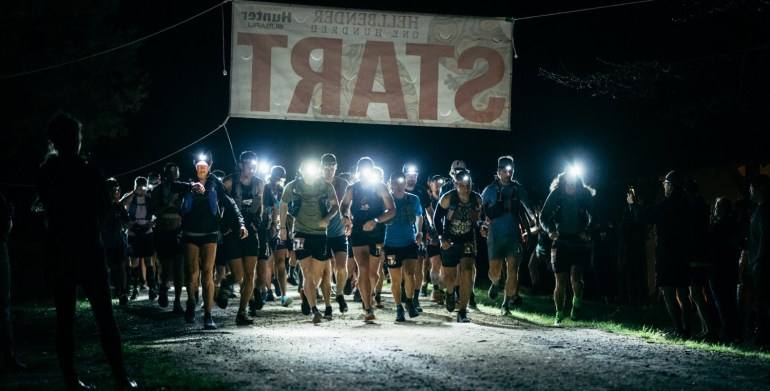 2019 hellbender 100 start [photo by White Blaze Productions]