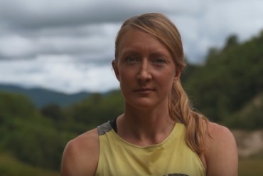 screen capture from THE LAST MILE - Kaytlyn Gerbin & The Western States 100