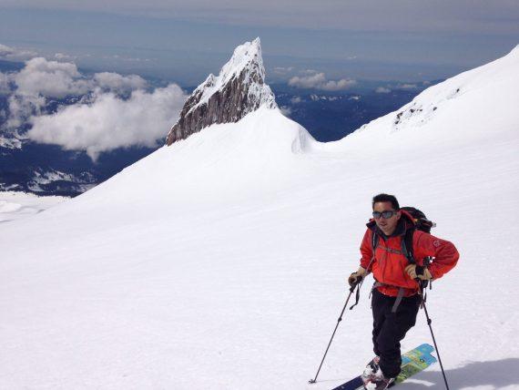 mitsu iwasaki ski mountaineering