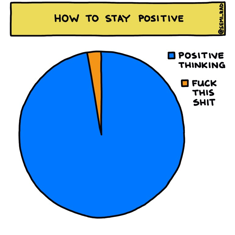 semi-rad chart: how to stay positive