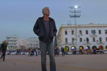 screen capture from roadrunner a film about anthony bourdain