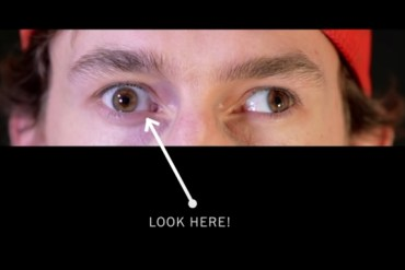 screen capture from I Have a Visual Disability, And I Want You To Look Me In the Eye