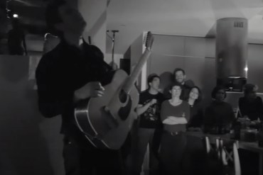 screen capture from Hamilton Leithauser - The Bride's Dad & When The Truth Is