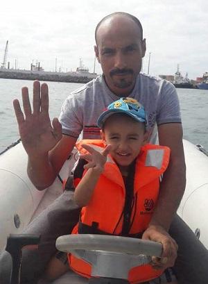 SOS Marin's Mr Rachid , gérant