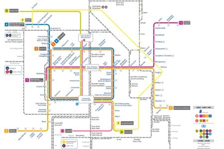 brussels metro map » Full HD MAPS Locations - Another World ...