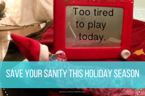 Stay Sane This Holiday Season