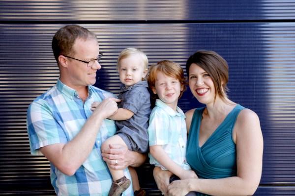 My family, 2017, by Jenn Cress