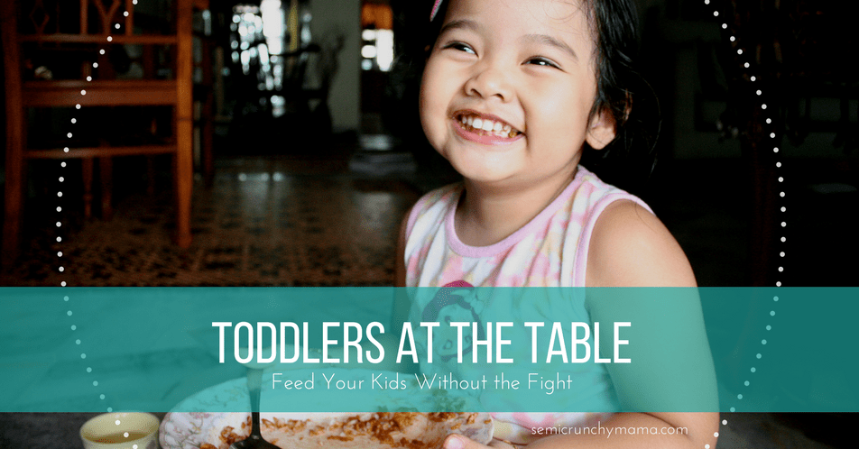 Toddlers at the Table, an online class recording