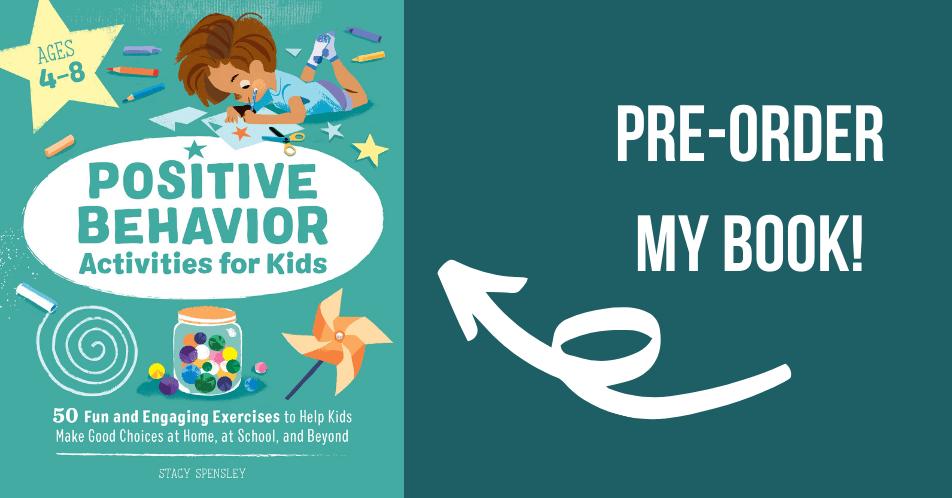 Order my book, Positive Behavior Activities for Kids