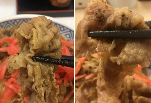 【比較】吉野家の『牛丼』と松屋の『プレミアム 牛めし』ハシゴしてわかった決定的な違い