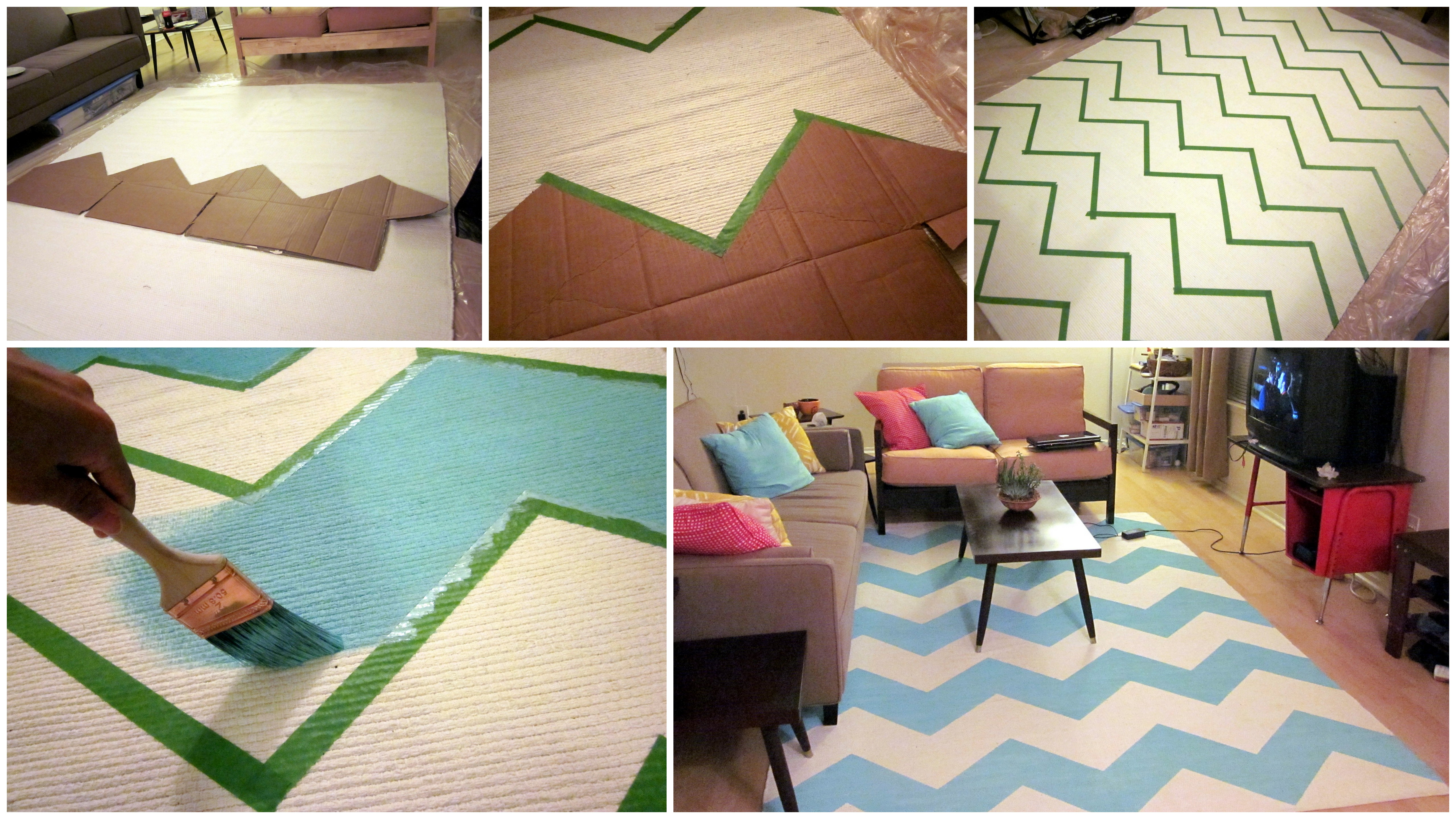 Painting By Tape – Semi-DIY Home Decor