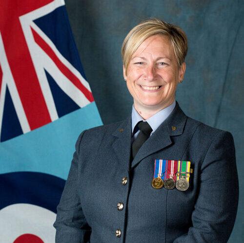 Squadron Leader Julie Rayson-Flynn