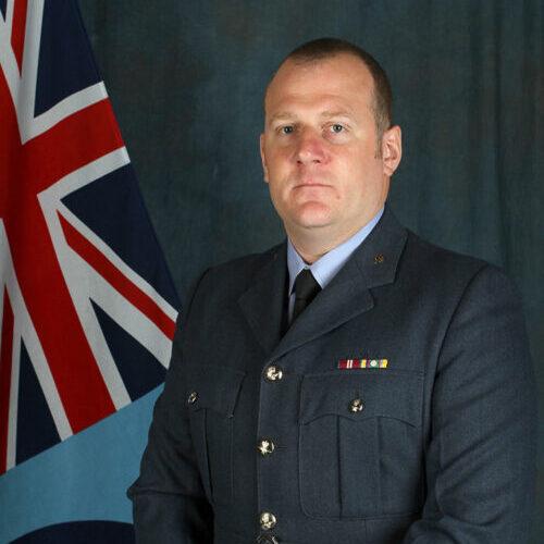 Squadron Leader Carl Wilson