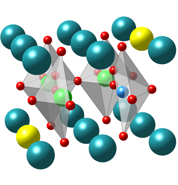 The unique molecular structure of peroviskite oxides allow these materials to more efficiently absorb energy from the sun. Source: Drexel University.