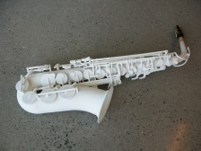 Printed saxophone. Source: Lund University