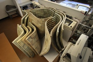 3D printed cement structure (Source: UC Berkeley)