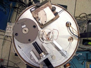 A laser from the NIST-designed autocollimator (Source: NIST)