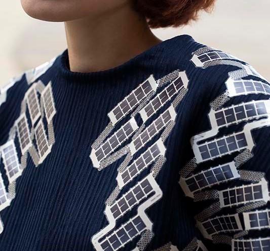 The solar shirt (Source: TNO/Liselotte Fleur)
