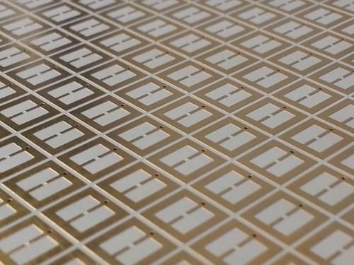 The metasurface used for collecting electromagnetic energy. (Source: O.Ramahi/U.Waterloo)