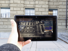 The Project Tango developer tablet used by the scientists. (Source: ETH Zurich / Thomas Schöps)