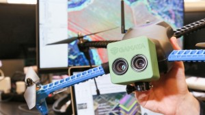 Agricultural drone from EPFL spin-off Gamaya (Source: EPFL)