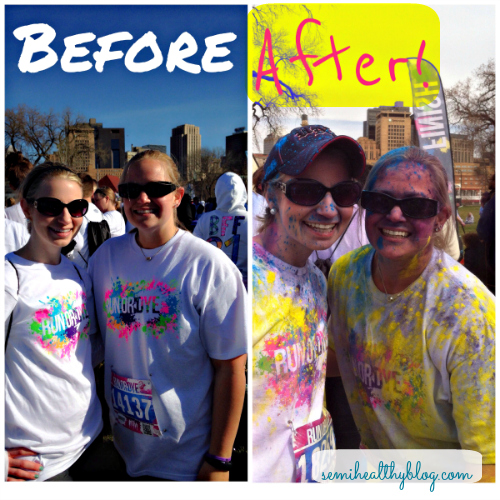 run or dye st paul 2014 before and after
