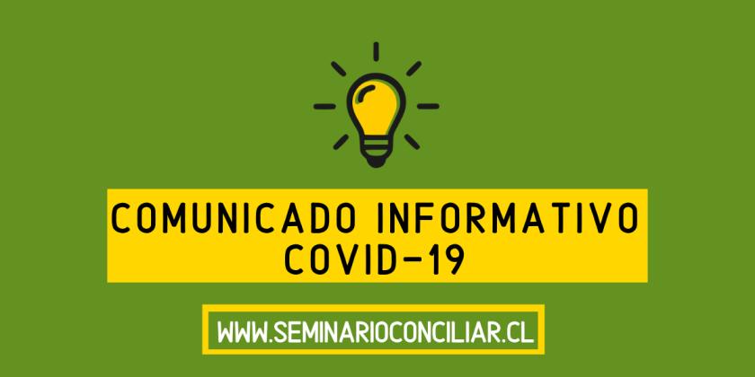 COMUNICADO Nº3 PREVENCIÓN COVID-19