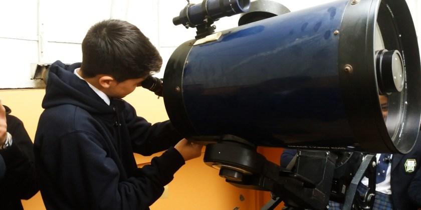 ESTUDIANTES PARTICIPAN EN ACTIVIDAD DEL SELLO CIENTÍFICO-ASTRONÓMICO