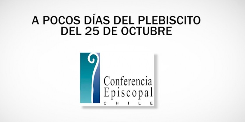 Obispos a pocos días del plebiscito del 25 de octubre