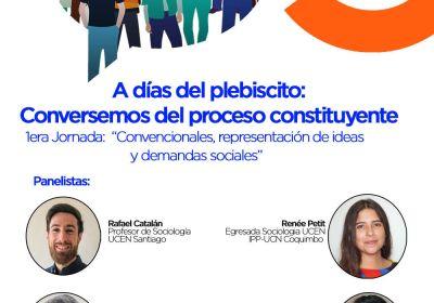 A días del Plebiscito: Conversemos del proceso constituyente