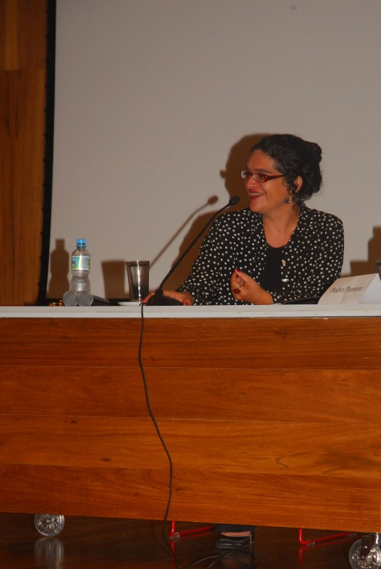 23/10. Maria Clara Paixão de Sousa, Mesa de Abertura. Foto: Jorge Viana.