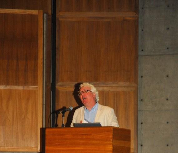 23/10. Daniel O'Donnell, Conferência. Foto: Jorge Viana.