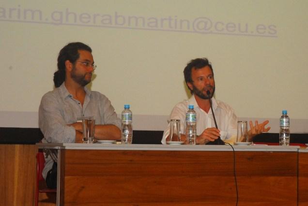 23/10. Luis Filipe Silvério Lima, Henrique Parra, Sessão de DetbatesFoto: Jorge Viana.