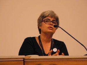 23/10, Dália Guerreiro, Mesa das Bibliotecas. Foto: Elena Lombardo.