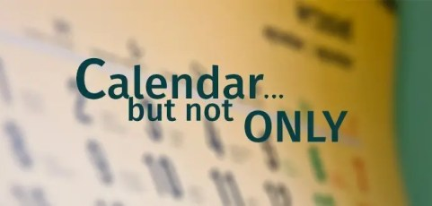 Calendar… but not only !