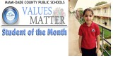 Values Matter Student of the Month