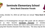Story Book Character Parade