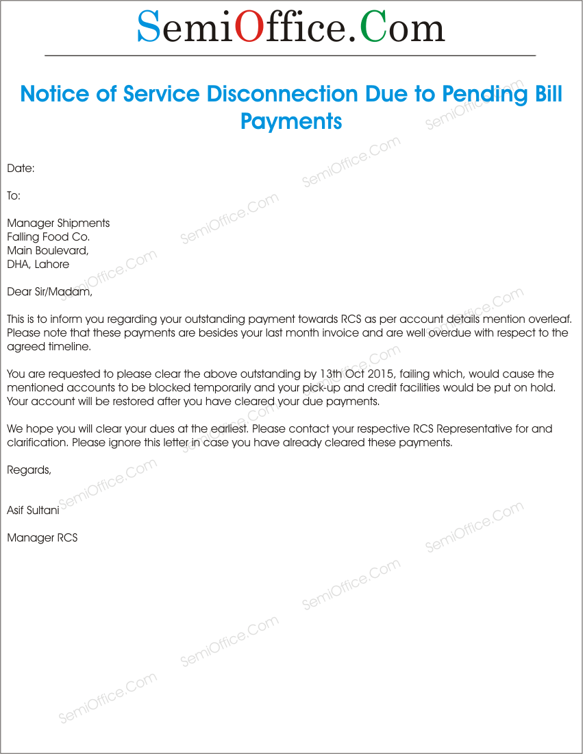 Billing letter requesting payment vatozozdevelopment billing letter requesting payment spiritdancerdesigns Image collections