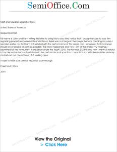 Request Letter to Refund Money