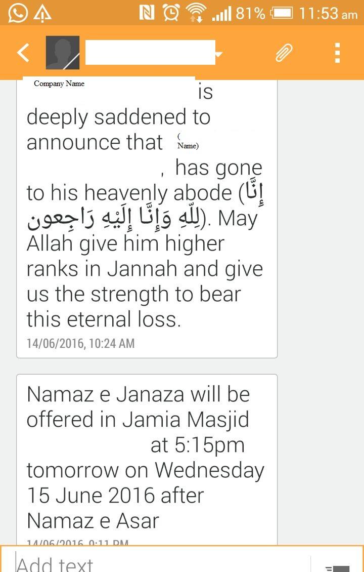 Letter for sending sad news of death sms for death spiritdancerdesigns Images