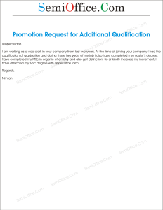 Increment Asking For Additional Qualification
