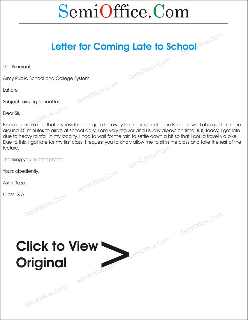 Applicationforcominglatetoschoolgssl1 application for coming late to school regularlydaily thecheapjerseys Images