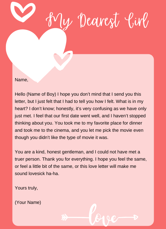 Love Letter to Someone You Just Met