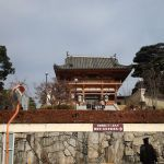 茨木市の総持寺に初詣に行きました